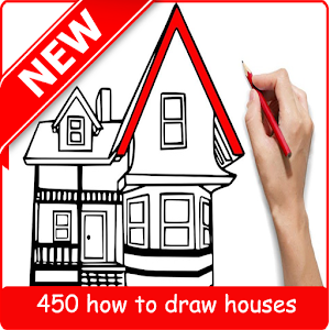 how to draw house step by step APK