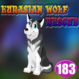 Eurasian Wolf Rescue Game Best Escape Game - 183