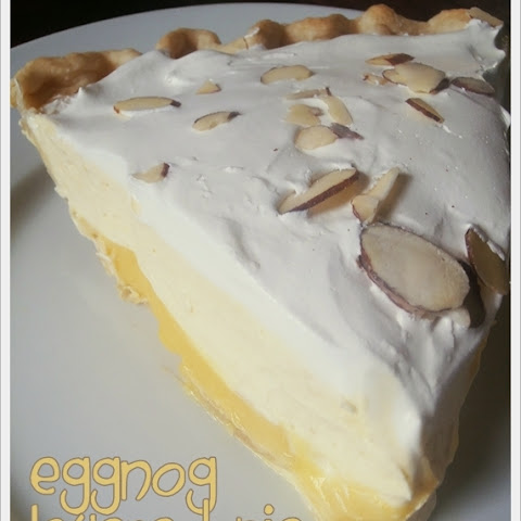 Eggnog Layered Pie