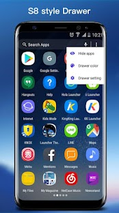 SO S8 Launcher for Galaxy S,  S8/S9 Theme Screenshot
