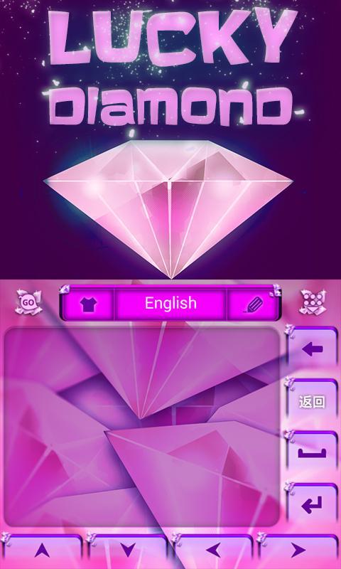 Lucky-Diamond-GO-Keyboard 9