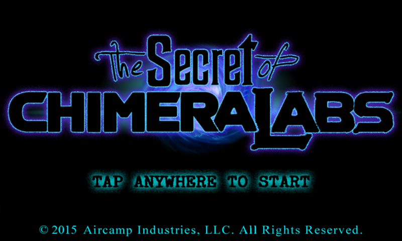 The Secret of Chimera Labs Screenshot 0