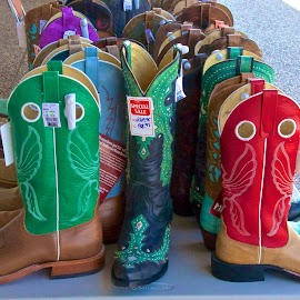 Boots, Boots, Boots by Kathy Suttles - Artistic Objects Clothing & Accessories