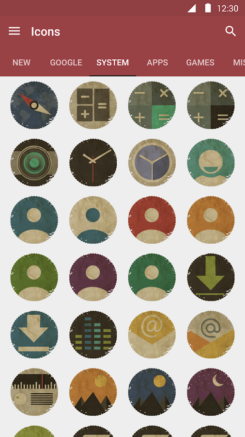 Vintage Icon Pack Screenshot 5