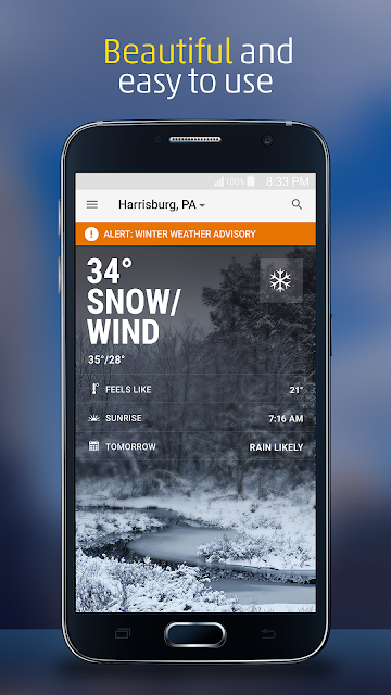 The Weather Channel screenshots