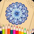 Mandala Coloring Book APK for Bluestacks