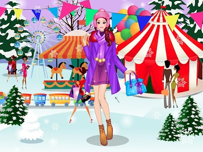 Game Winter Market Day APK for Kindle