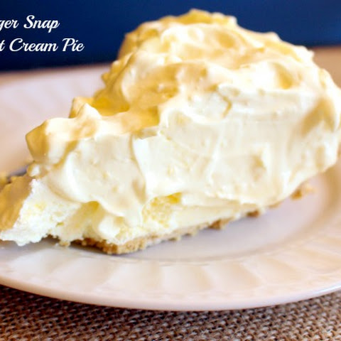 Ginger Snap Coconut Cream Pie