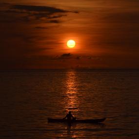 Beautiful Sunset by Yohanes M Wain - Landscapes Sunsets & Sunrises ( sunset )