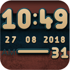 Cabu Digital Clock Widget