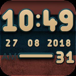 Cover art Cabu Digital Clock Widget