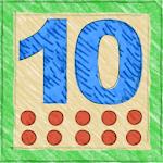 Addieren bis 10 auf Englisch Icon