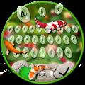 Free Fish Garden Keyboard Theme APK for Windows 8
