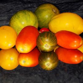 multicolor tomatoes by LADOCKi Elvira - Food & Drink Fruits & Vegetables ( fruits )