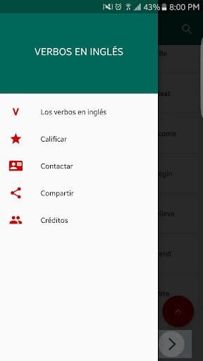 Verbos en Inglés screenshot 6