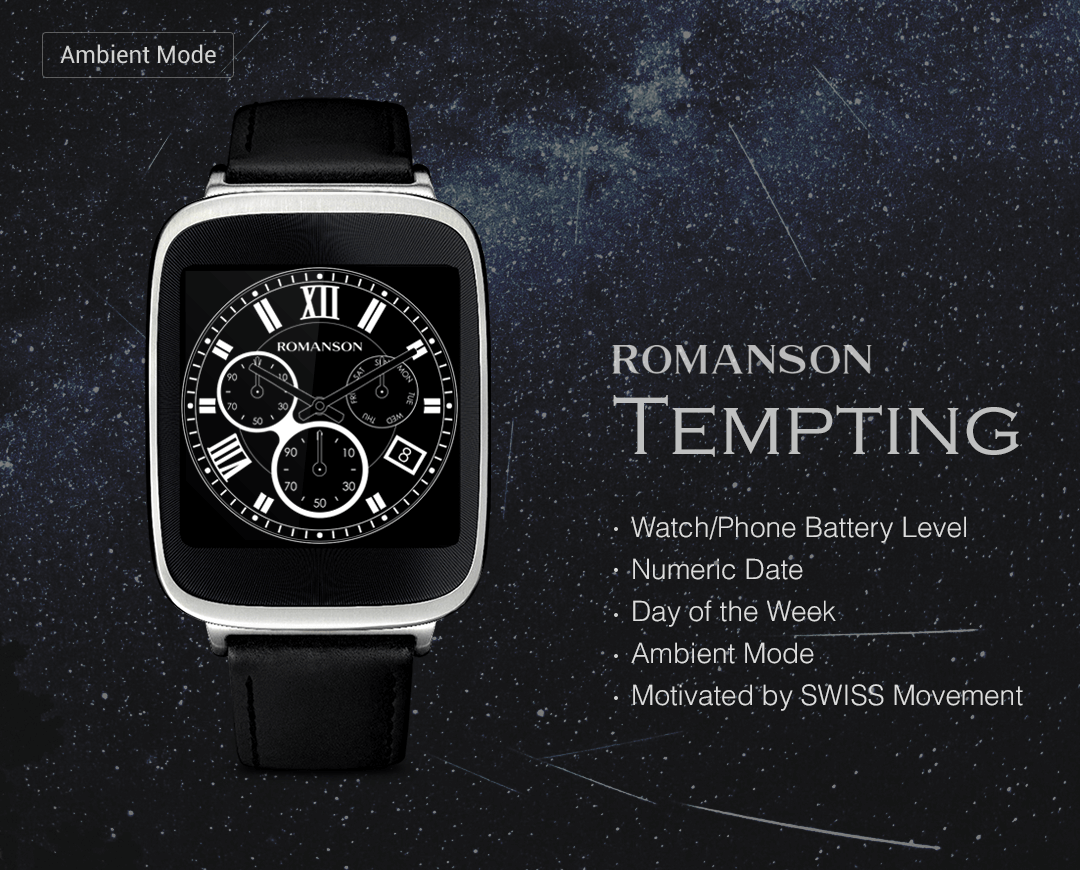 Tempting watchface by Romanson Screenshot 4