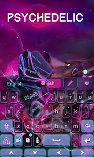 Psychedelic-GO-Keyboard-Theme 2
