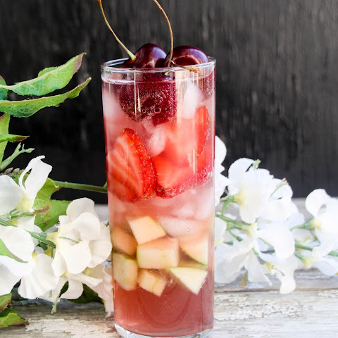 Kombucha Tea & Vodka Sangria