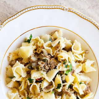 Tuna Pasta White Sauce Recipes