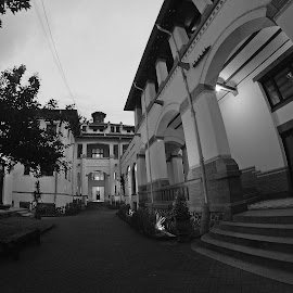 Lawang Sewu by Imal Prayitno - Buildings & Architecture Statues & Monuments