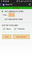 Screenshot of Music Off