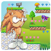 Game Super Hedgehog World Adventure: Quest for a rescue apk for kindle fire