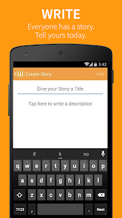 Wattpad for Lollipop - Android 5.0