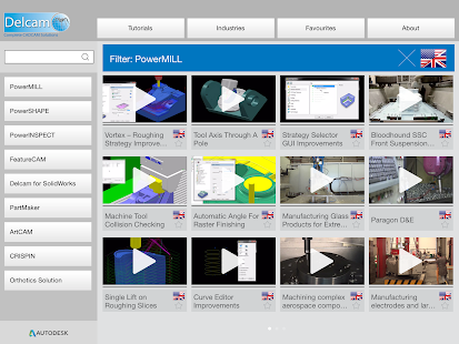 Delcam Learning Zone - screenshot