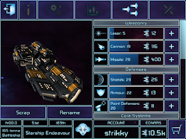 Screenshot of War Space: Free Strategy MMO