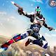 Flying Robot Police Hero Battle