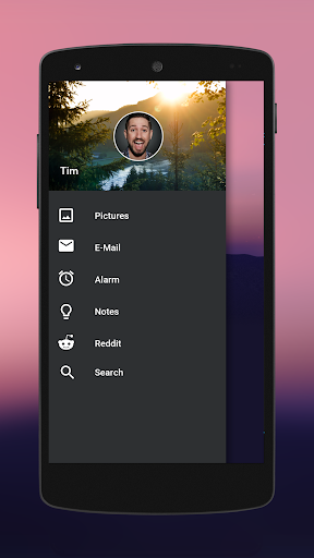 Behind for KLWP - screenshot