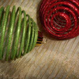 Metal Spiral Ornaments by Liz Pascal - Public Holidays Christmas