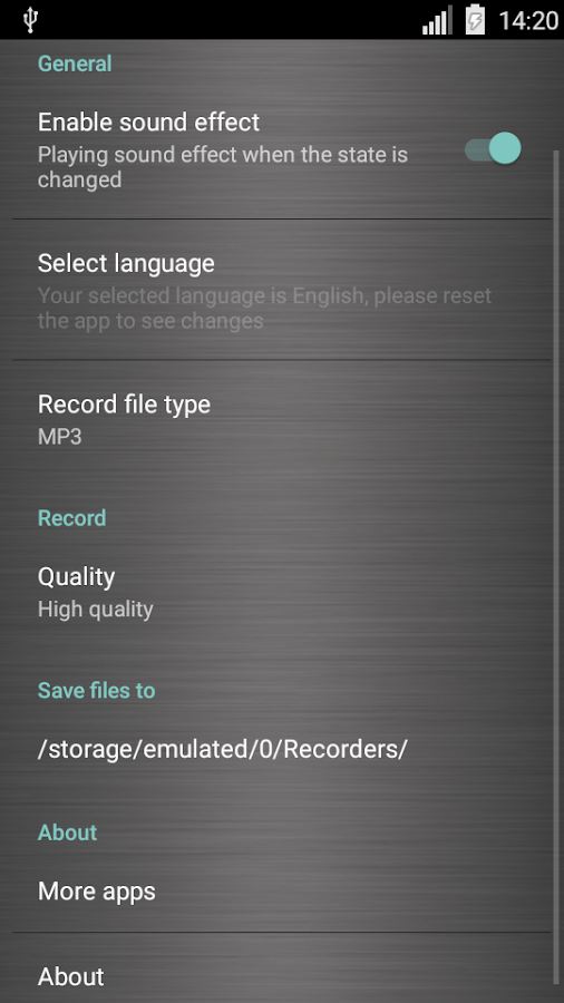 Voice recorder pro Screenshot 5