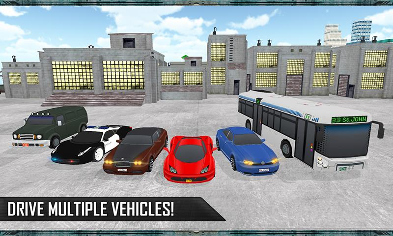 Grand Car Chase Auto Theft 3D Screenshot 5