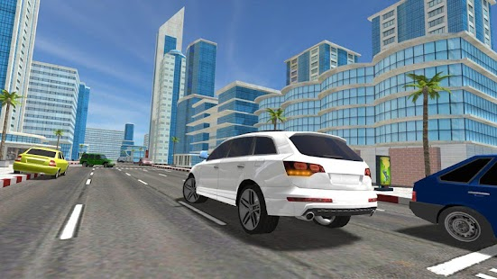 Luxury Cars SUV Traffic