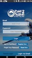 Screenshot of Paid2Save