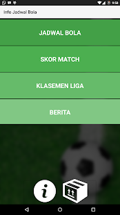 Info Jadwal Bola Screenshot