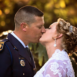 by Wendy Berning - Wedding Bride & Groom