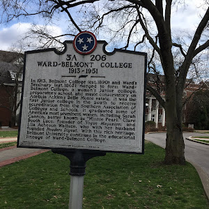 WARD-BELMONT COLLEGE 1913-1951 In 1913, Belmont College (est. 1890) and Ward's Seminary (est. 1865) merged to form Ward-Belmont College, a women's junior college, preparatory school, and music ...