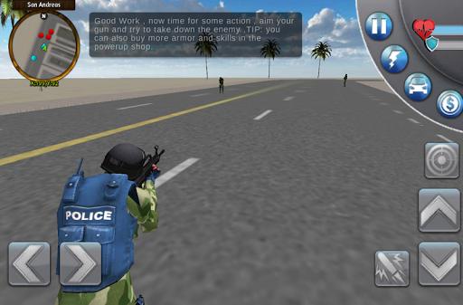 San Andreas Crime City 3D - screenshot
