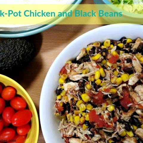 Crock-Pot Chicken and Black Beans