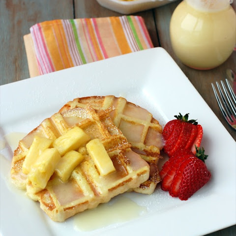 French Toast Waffles Recipe | Yummly