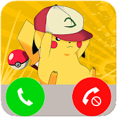 Fake Call From Pikachu APK for Bluestacks