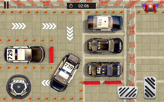 Police Car Parking Adventure 3D APK screenshot thumbnail 4