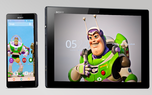 Buzz Toy Story-Xperia-Theme - screenshot