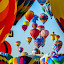 Morning launch by Ruth Sano - Transportation Other ( balloon fiesta, albuquerque, launch, balloons, hot air balloons, new mexico,  )