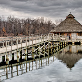 by Dragos Tranca - Landscapes Waterscapes ( wooden, hdr, waterscape, dome, boardwalk )