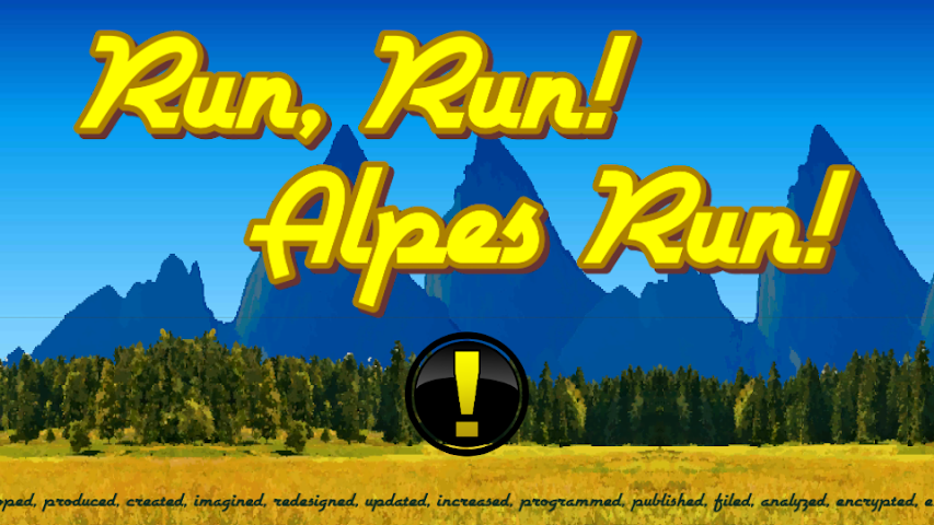 android Run,  Run! Alpes Run! Screenshot 1