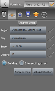 GPS Ouagadougou, Burkina Faso - screenshot