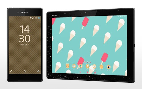 XPERIA™ Ice-cream Theme